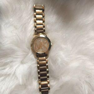 Michael Kors gold watch- worn 1x